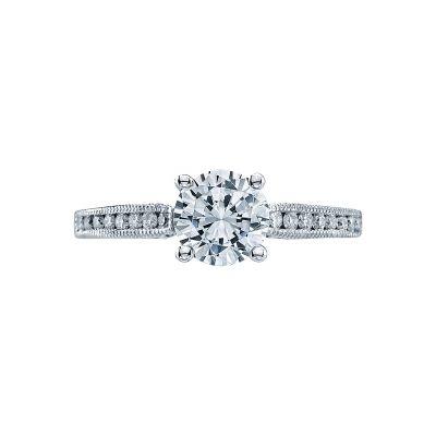 Tacori 3003 Simply Tacori Platinum Round Engagement Ring