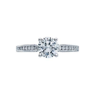 Tacori 3003-W Simply Tacori White Gold Round Engagement Ring