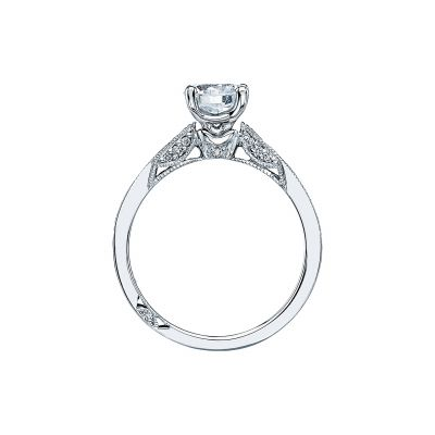 Tacori 3003-W White Gold Round Engagement Ring side