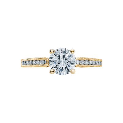 Tacori 3003-Y Simply Tacori Yellow Gold Round Engagement Ring