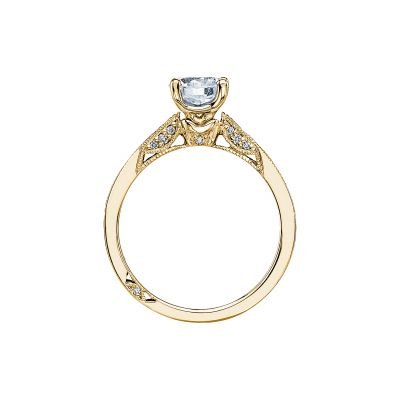 Tacori 3003-Y Yellow Gold Round Engagement Ring side