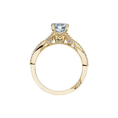 Tacori 3004-Y Yellow Gold Round Engagement Ring side