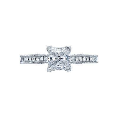 Tacori 3005-W Simply Tacori White Gold Princess Cut Engagement Ring