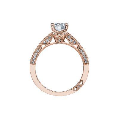 Tacori 3006-PK Rose Gold Round Engagement Ring side