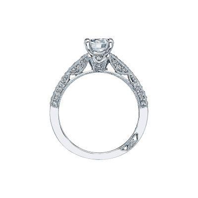 Tacori 3006 Platinum Round Engagement Ring side