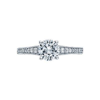 Tacori 3006 Simply Tacori Platinum Round Engagement Ring