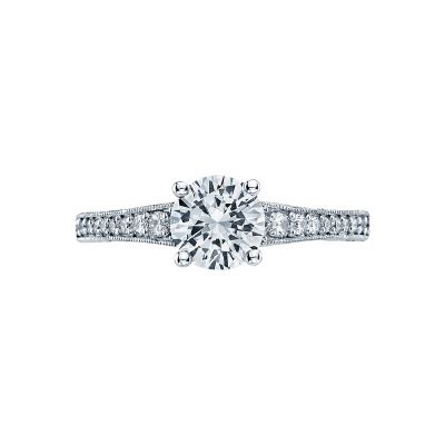 Tacori 3006-W Simply Tacori White Gold Round Engagement Ring