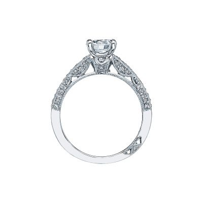 Tacori 3006-W White Gold Round Engagement Ring side