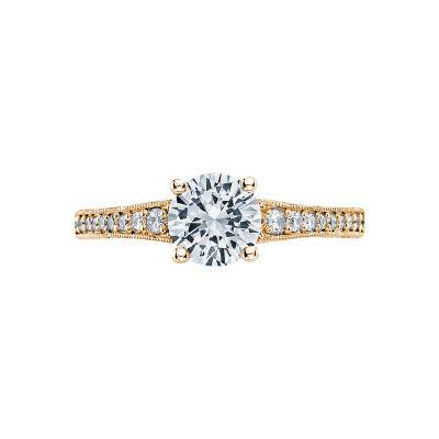 Tacori 3006-Y Simply Tacori Yellow Gold Round Engagement Ring