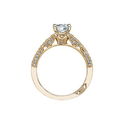 Tacori 3006-Y Yellow Gold Round Engagement Ring side