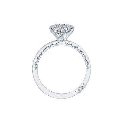 Tacori 301-25PR-5 Platinum Princess Cut Engagement Ring side