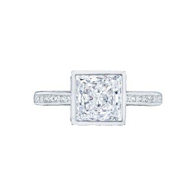Tacori 301-25PR-5 Starlit Platinum Princess Cut Engagement Ring
