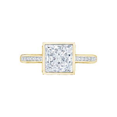 Tacori 301-25PR-5Y Starlit Yellow Gold Princess Cut Engagement Ring
