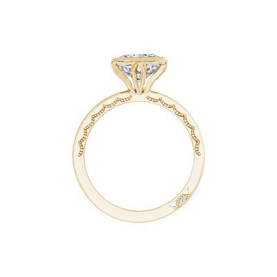 Tacori 301-25PR-5Y Yellow Gold Princess Cut Engagement Ring side