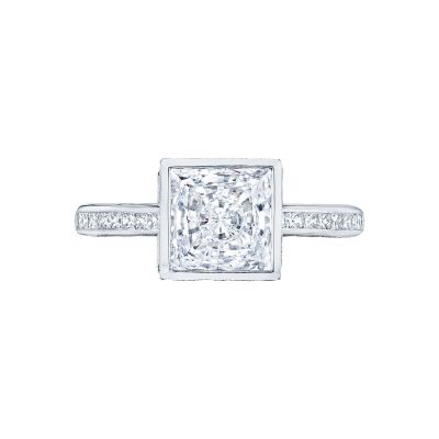 Tacori 301-25PR Starlit White Gold Princess Cut Engagement Ring