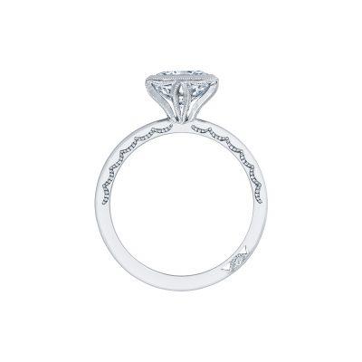 Tacori 301-25PR White Gold Princess Cut Engagement Ring side