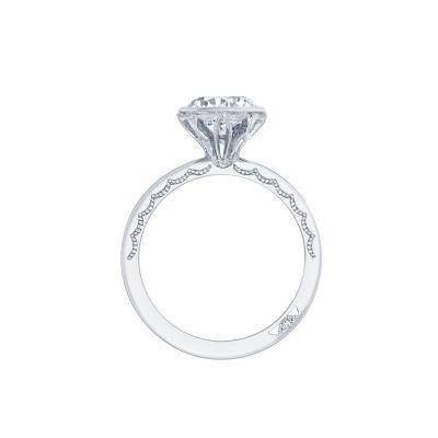 Tacori 301-25RD-6 Platinum Round Engagement Ring side