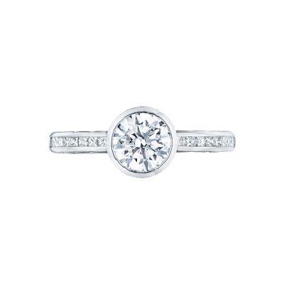 Tacori 301-25RD-6 Starlit Platinum Round Engagement Ring