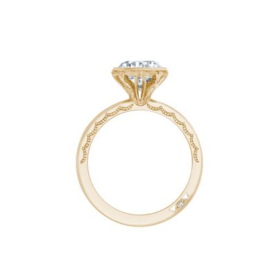 Tacori 301-25RD-6Y Yellow Gold Round Engagement Ring side