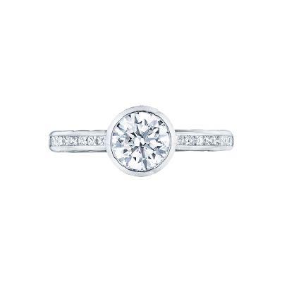 Tacori 301-25RD Starlit White Gold Round Engagement Ring