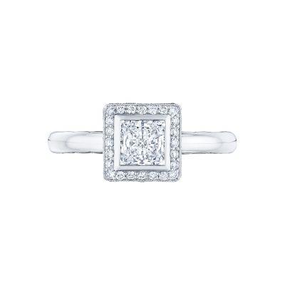 Tacori 303-25PR-525 Starlit Platinum Princess Cut Engagement Ring