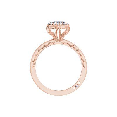 Tacori 303-25PR-525Y Starlit Yellow Gold Princess Cut Engagement Ring