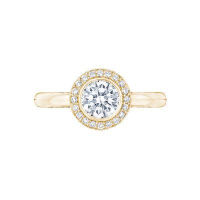 Tacori 303-25RD-625Y Starlit Yellow Gold Round Engagement Ring