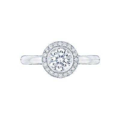 Tacori 303-25RD Starlit White Gold Round Engagement Ring