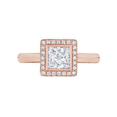 Tacori 304-25PR-5PK Starlit Rose Gold Princess Cut Engagement Ring