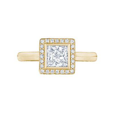 Tacori 304-25PR-5Y Starlit Yellow Gold Princess Cut Engagement Ring