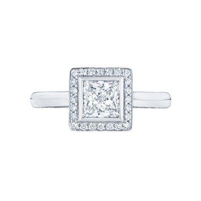 Tacori 304-25PR Starlit White Gold Princess Cut Engagement Ring