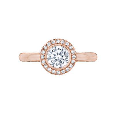 Tacori 304-25RD-6PK Starlit Rose Gold Round Engagement Ring