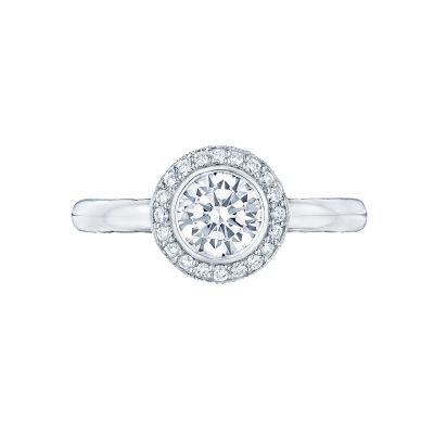 Tacori 304-25RD Starlit White Gold Round Engagement Ring