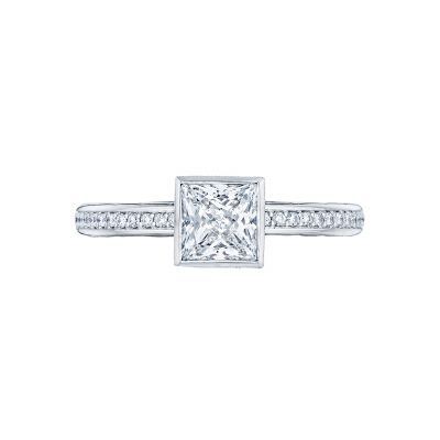 Tacori 305-25PR-5 Starlit Platinum Princess Cut Engagement Ring
