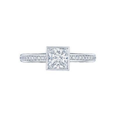 Tacori 305-25PR Starlit White Gold Princess Cut Engagement Ring