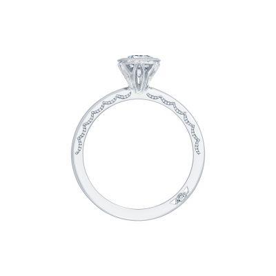 Tacori 305-25PR White Gold Princess Cut Engagement Ring side