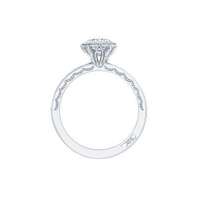 Tacori 305-25RD-6 Platinum Round Engagement Ring side