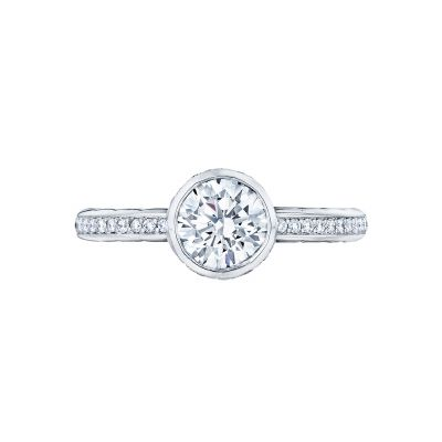 Tacori 305-25RD Starlit White Gold Round Engagement Ring
