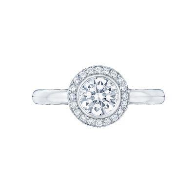 Tacori 306-25PR-5 Starlit Platinum Princess Cut Engagement Ring