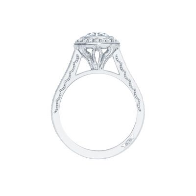 Tacori 306-25RD White Gold Round Engagement Ring side