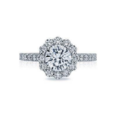Tacori 37-2RD7 Full Bloom Platinum Round Engagement Ring
