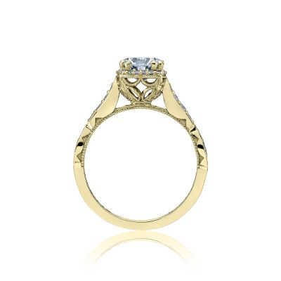 Tacori 39-2CU65-Y Yellow Gold Round Engagement Ring side