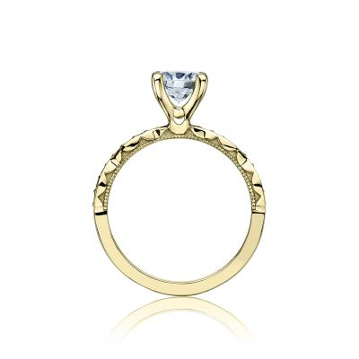 Tacori 46-2RD65-Y Yellow Gold Round Engagement Ring side