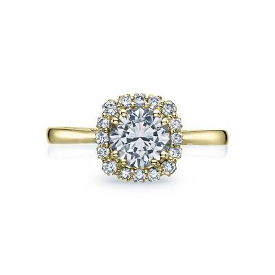 Tacori 55-2CU65-Y Full Bloom Yellow Gold Round Engagement Ring