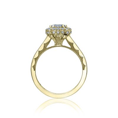 Tacori 55-2CU65-Y Yellow Gold Round Engagement Ring side