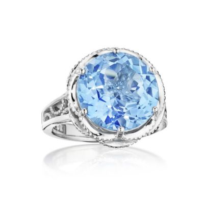 Tacori Swiss Blue Topaz Statement Ring SR12345