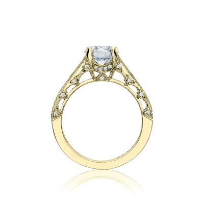 Tacori HT251012X-Y Yellow Gold Round Engagement Ring side