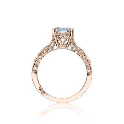 Tacori HT2528RD75-PK Rose Gold Round Engagement Ring side