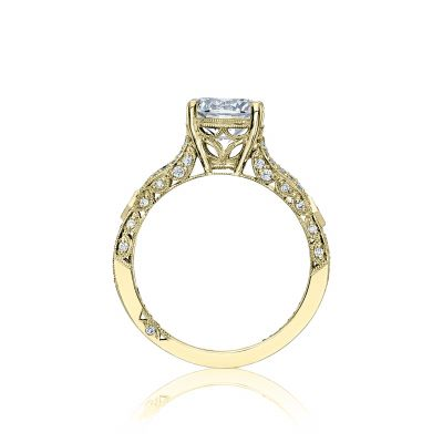 Tacori HT2528RD75-Y Yellow Gold Round Engagement Ring side