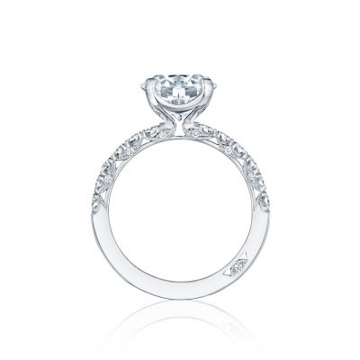 Tacori HT254525RD9 Platinum Round Engagement Ring side